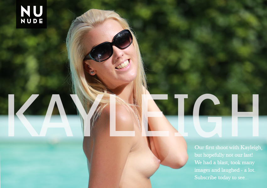 Kayleigh nudist model