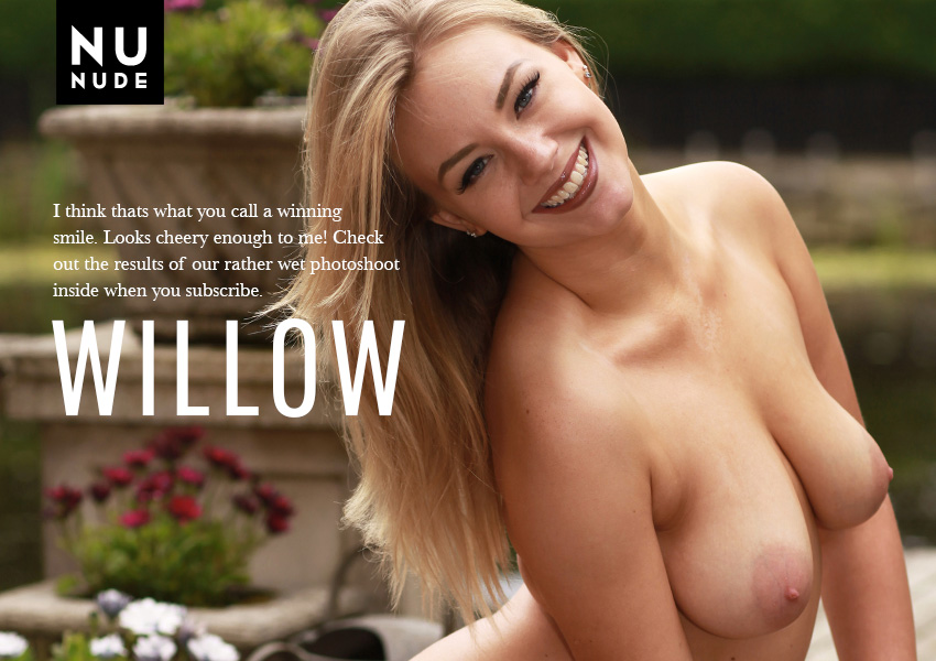 Naturist Willow nudist model for nunude