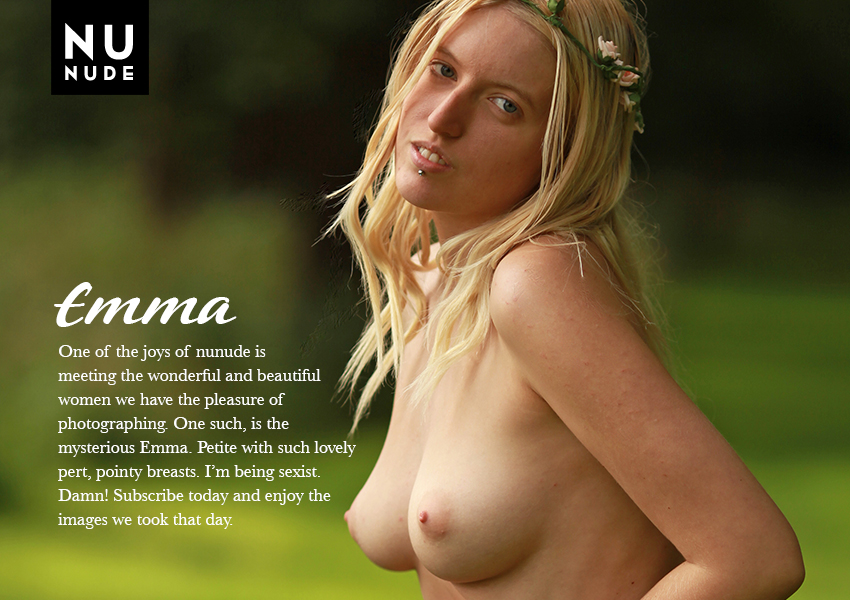 Emma nudist model