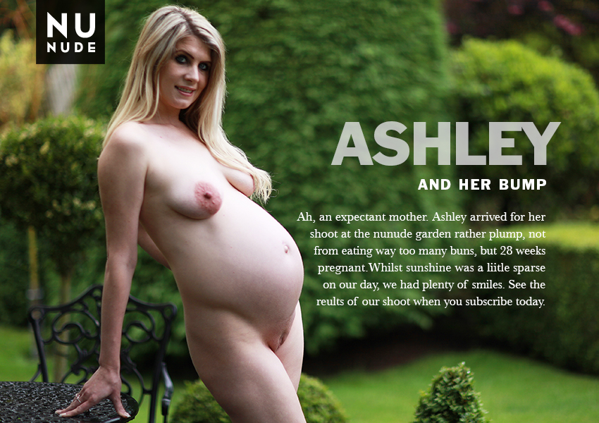 Naturist Ashley pregnant nunude