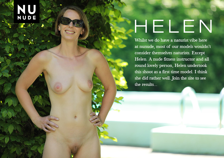 Helen Smith nunude naturist nudist model
