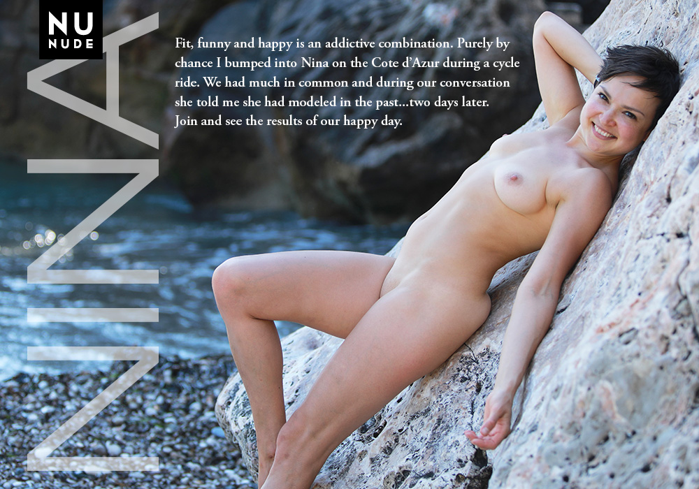 Nina nunude naturist model