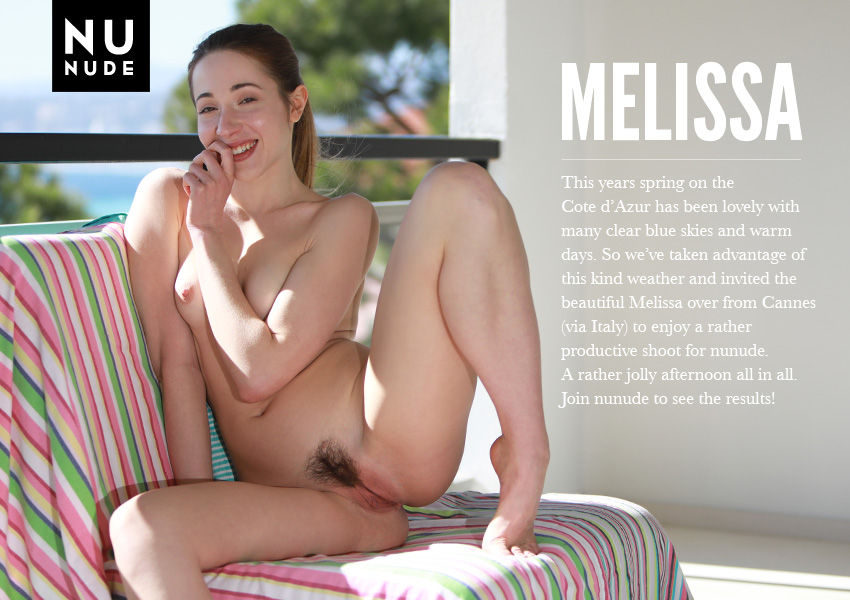Melissa nunude nudist model