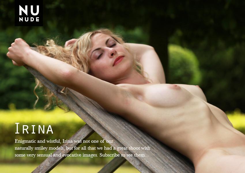 Irina nudist model