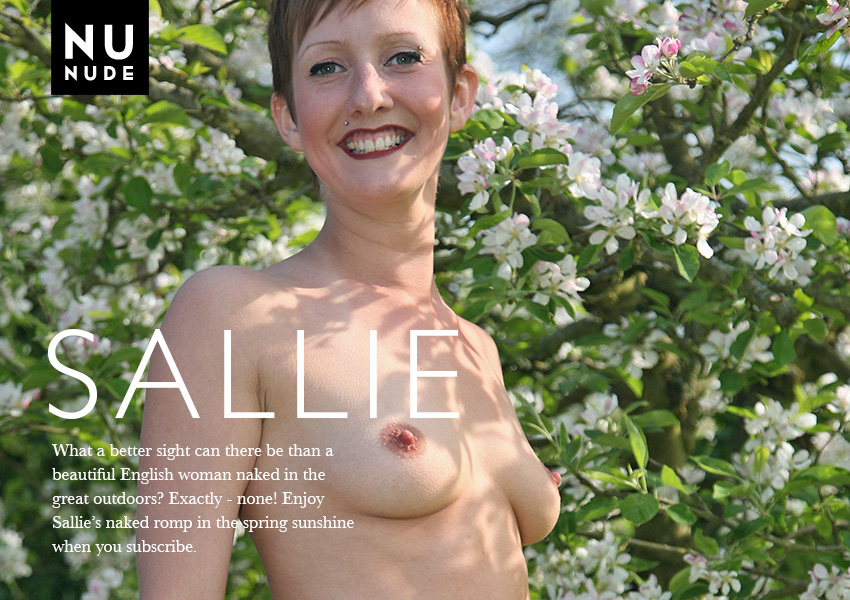 Sallie Nudist model