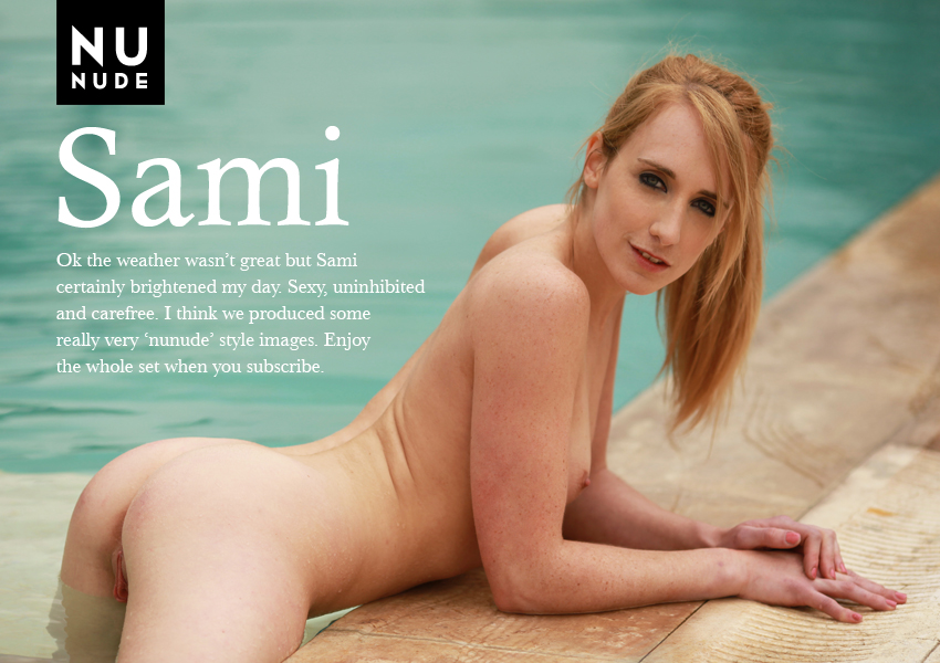 Nunude naturist Sami nudist model