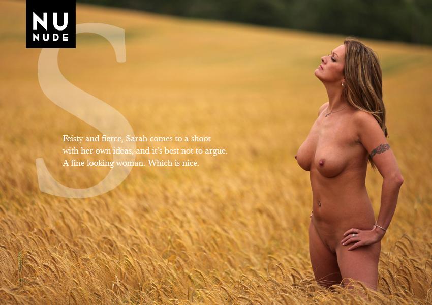 Sarah Ayles Nudist Model